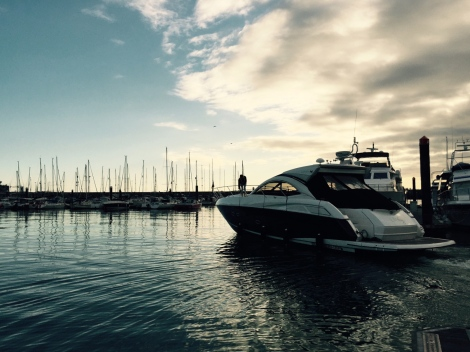 "The Sunseeker Portofino 48 ""JUJU"" was delivered to Torquay with the assistance of Sunseeker Torquay"