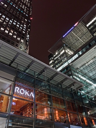 Eat: ROKA, 4 Park Pavilion, 40 Canada Square, London, E14 5FW