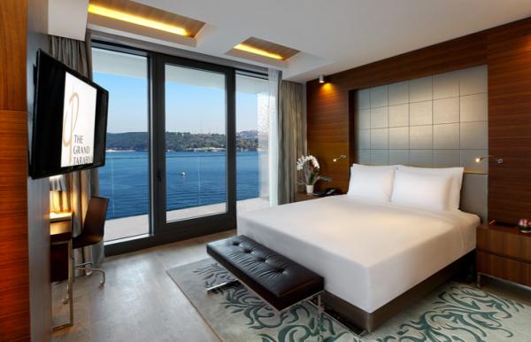 Sleep: The Grand Tarabya Hotel, Haydar Aliyev Cd, Istanbul