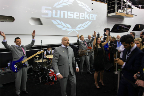 The Sunseeker Renegades, our very own in-house band, performed at the launch with singer Jodie Elms