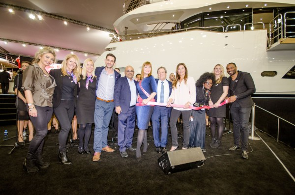 """Supported by Peters & May, which recently launched a """"Pink Lashings Initiative"""" to make donations through shipping, PAH Breast Cancer Clinical Trials have so far raised nearly £25,000 at the London Boat Show"""