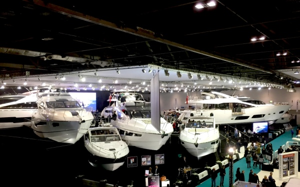 Visitors came from around the World to see the 9 Sunseeker yachts on display at the London Boat Show