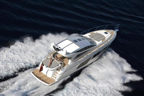 The stunning new Sunseeker Predator 57 will be unveiled at the London Boat Show 2015
