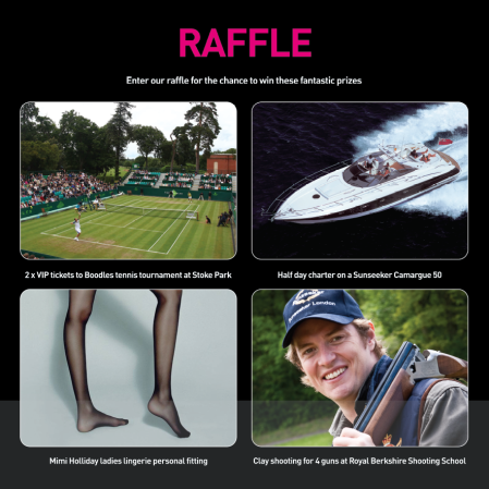 PAH Breast Cancer Clinical Trials are offering some amazing fundraising prizes via a Silent Auction and Raffle