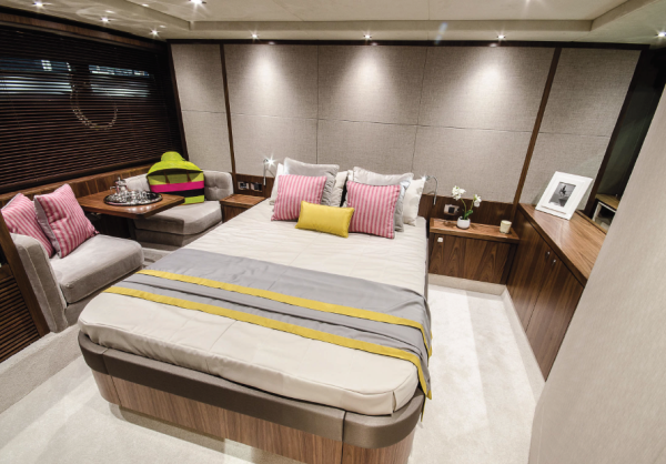 Offering 3 cabins, radical new lines and beautiful interior design, the Sunseeker Predator 57 is set to be a very popular cruiser this season