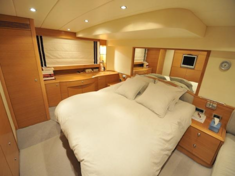 """Offering a highly equipped specification,""""ORPHEE"""" boasts 3 beautifully appointed cabins"""