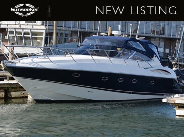 """Sunseeker Southampton have listed the Sunseeker Camargue 44 """"SWELL"""", asking £124,950 VAT paid"""