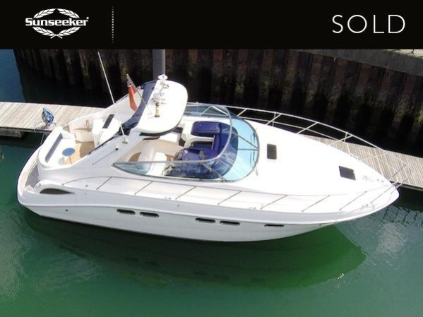 "The Sealine S42 ""WELL CHILLED"" will be navigated along the River Thames by her new owners"