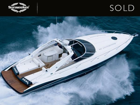 "The Sunseeker Superhawk 43 ""DONE DEAL"" was sold by Sunseeker Southampton and Sunseeker Poole"
