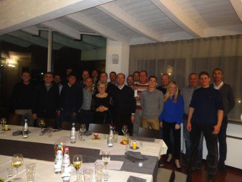 Delegates at the Besenzoni training event, attended by Sunseeker Hellas
