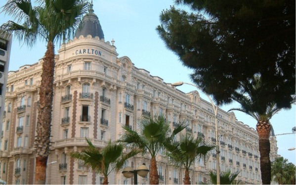 EAT: InterContinental Carlton Cannes, 58 Boulevard de la Croisette, 06400, Canne