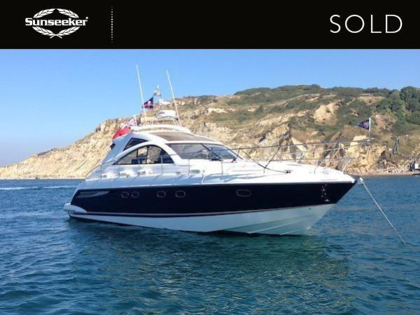 "The Fairline Targa 47 ""SEPTEMBER DAWN"" was sold this month by the team at Sunseeker Southampton"