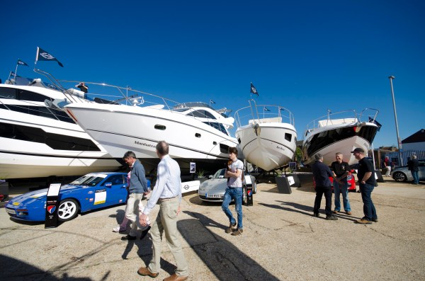 The Sunseeker London Group is anticipating a busy weekend of sales enquiries at the Pre-Season event