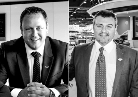 Two new sales directors have been appointed for Sunseeker Spain - Richard Tilley of Sunseeker London and Miguel Angel Linares of Sunseeker Spain