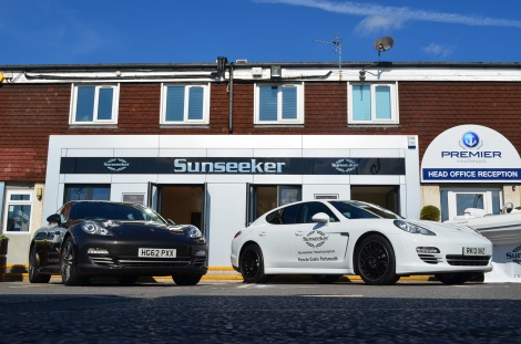 Sunseeker Southampton is based at the Premier Marinas facility in Swanwick