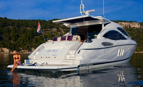 "Sunseeker Hellas delivered Sunseeker Predator 52 ""DEL BOY"" on behalf of her new owner this month"