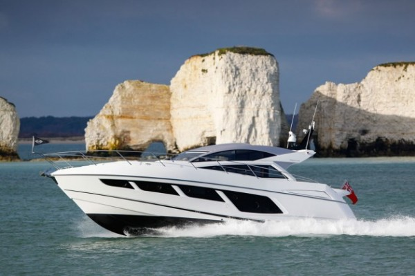 Sunseeker Andalucia are looking forward to the arrival of a brand new Sunseeker Predator 57 Photo Credit: Motor Boat & Yachting