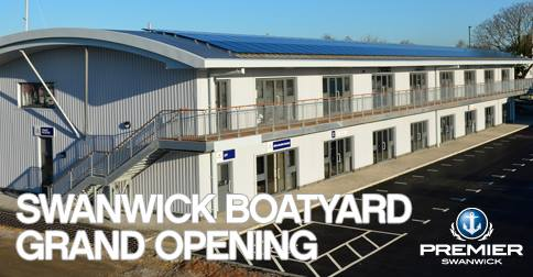 Premier Marinas will be celebrating the grand opening of their new flagship boatyard on Monday 6th April from 14:00-18:00