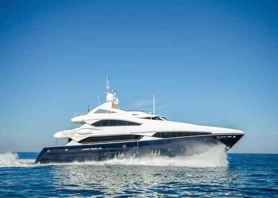 """The 37 Metre Yacht """"LADY RIMA"""" boasts an extensive specification"""