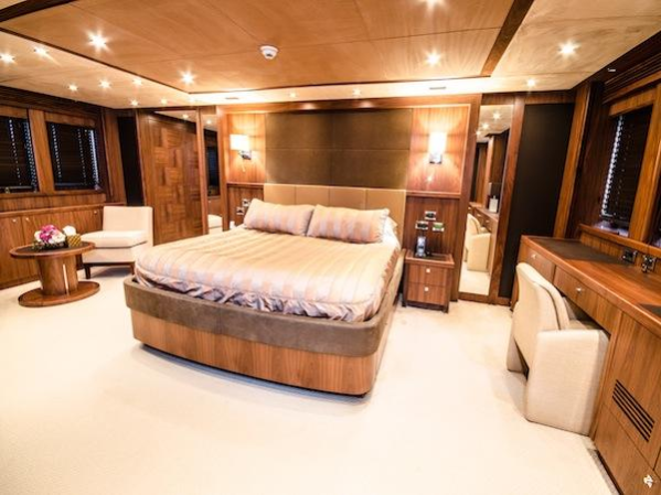 """""""LADY RIMA"""" accommodates 10 guests in 5 luxurious fully ensuite cabins (plus 8 crew) over 2 levels"""