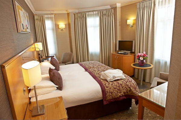 SLEEP: Pomme d'Or Hotel, Liberation Square, St Helier, Jersey, JE1 3UF