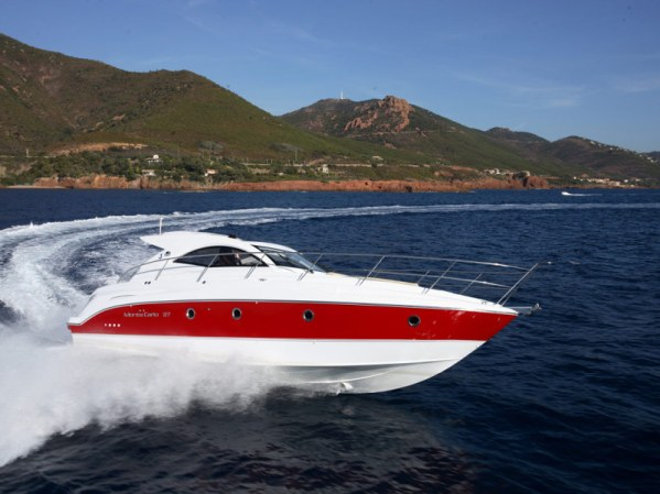 """Sunseeker Poole and Sunseeker Beaulieu have completed on the Beneteau Monte Carlo 37 """"TAHAA"""", now renamed """"CAMELLIA"""""""