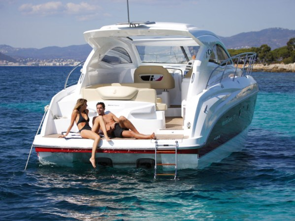 """Steve Handy represented the seller in the brokerage sale of the Beneteau Monte Carlo 37 """"TAHAA"""", centrally listed by colleague Remy Becquet from the Sunseeker Beaulieu office"""