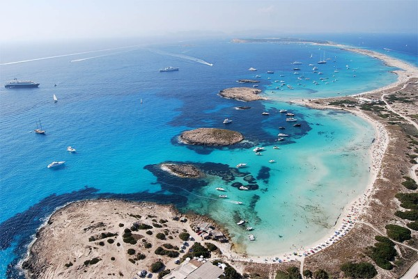 Sunseeker Ibiza is proud to announce that Playa de Ses Illetes, in nearby Formentera, has been named one of the World's most beautiful beaches by Trip Advisor