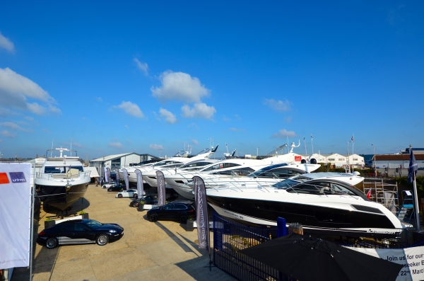 Guests at the 2015 Sunseeker Pre-Season Boat Show in Poole enjoyed a stunning display of Sunseeker yachts and plenty of Spring sunshine