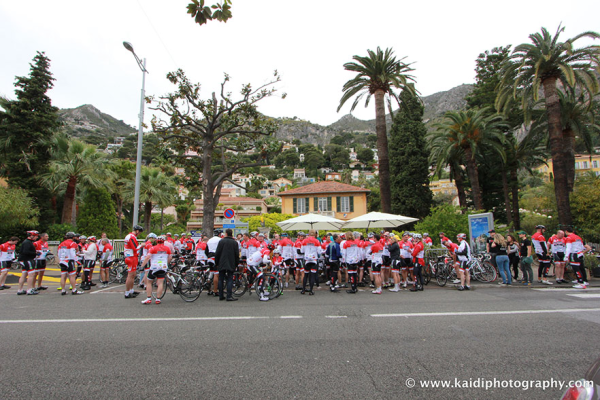 The peloton will pass through St Raphael, Mandelieu-La Napoule, Antibes, Cap d'Ail and Anjuna Plage before heading into Monaco for the grand finish