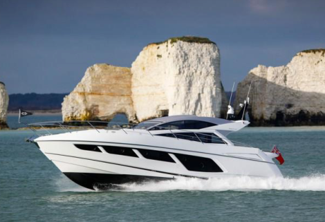 The new Sunseeker Predator 57 will be on display at the Sunseeker Pre-Season Boat Show in Poole