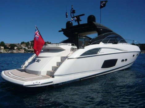 """LADY ICE"" is the only Predator 60 with cockpit patio doors available on the brokerage market"