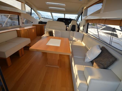 """""""KASIA II"""" is equipped with the favourable twin Volvo IPS 1200 engine option"""