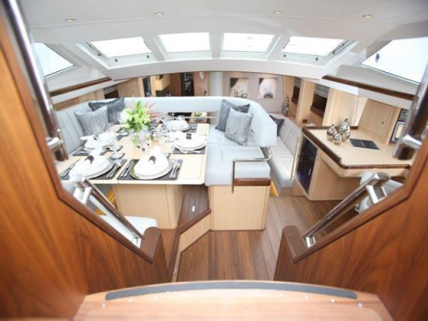 "The 2012 built Oyster 82 ""RAVEN"" is a stunning sailing yacht, and a newly VAT paid opportunity on the market"