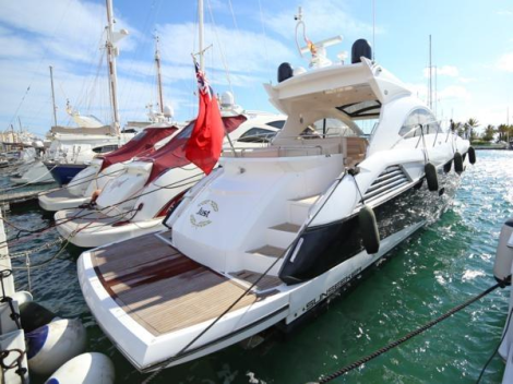 """Fully maintained, serviced and ready to go, the Sunseeker Predator 54 """"JUST"""" is lying in Southern Spain"""