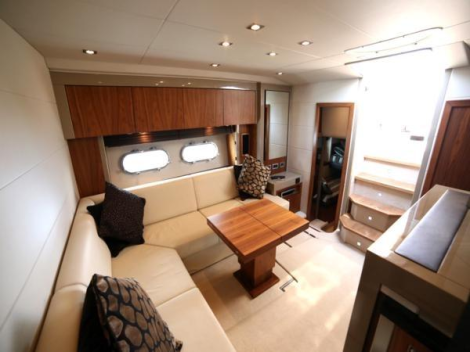 A stylish interior compliments the Predator 54s striking external looks
