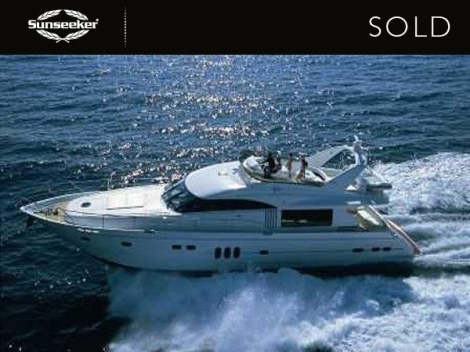 "Sunseeker Monaco have sold the Princess 23M ""ISABEL"""
