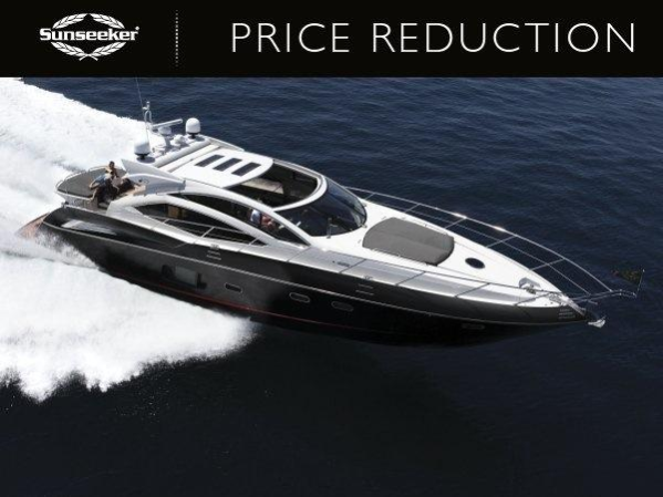 "Sunseeker Poole announce price reduction for Sunseeker Predator 64 ""KASIA II"", asking £765,000 ex VAT"