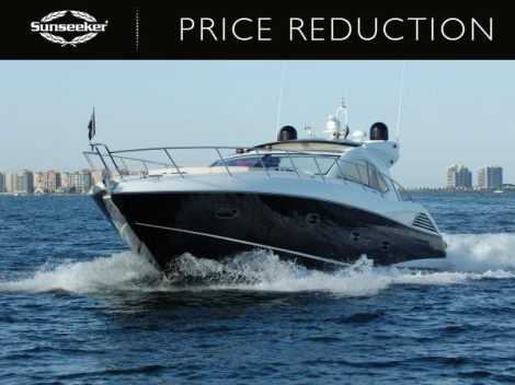 """Now asking €680,000 Tax paid, the Sunseeker Predator 54 """"JUST"""" represents terrific value"""