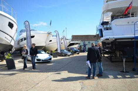 The Sunseeker Poole Ex-Demonstrator Weekend is a one-off event in time for the 2015 season