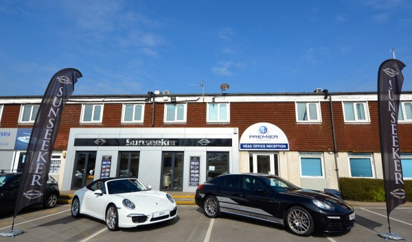 Sunseeker will be supported by Porsche Cars GB at the British Motor Yacht Show in Swanwick