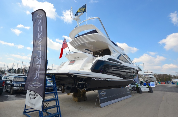 This Manhattan 55 was one of the stars of the Easter Boat Show in Swanwick