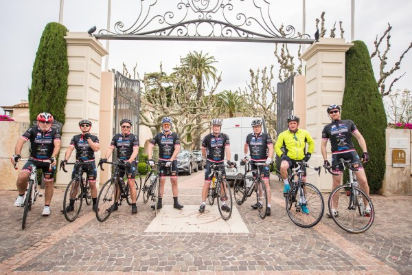 The Sunseeker Cycling Team took on the COCC St Tropez to Monaco challenge for 2015