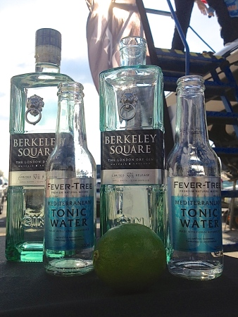 Sunseeker Southampton were proud to partner with Berkeley Square Gin to provide refreshing G&Ts for guests!