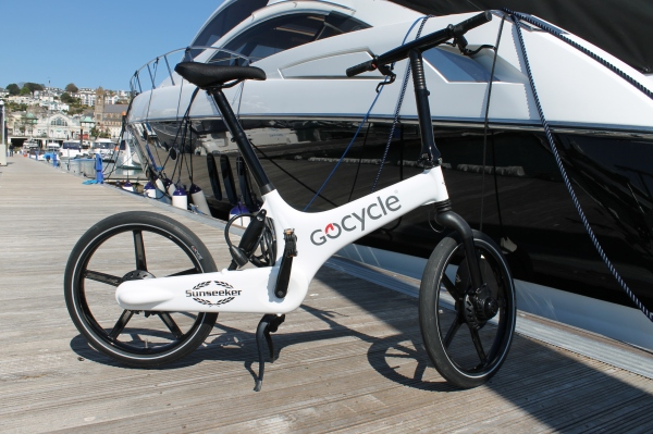 The Gocycle is foldable, lightweight and electronic