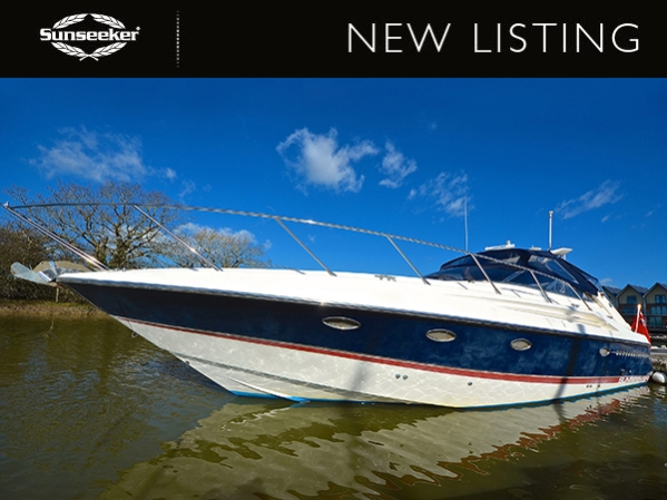 "Sunseeker Portofino 400 ""GINGER CREW"" - £99,950 VAT Paid"