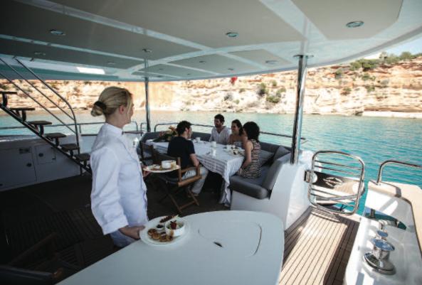 The 28 Metre Yacht is a popular charter vessel in the Sunseeker range