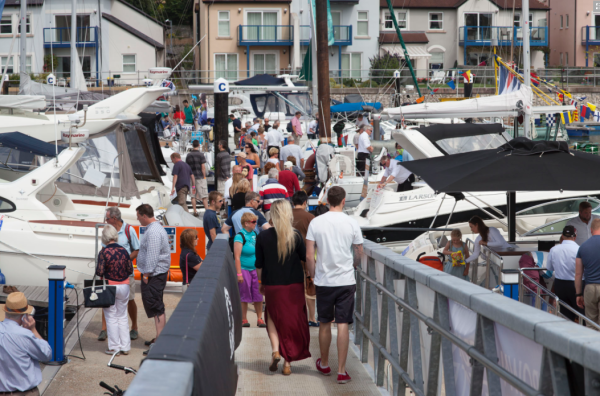 The All Wales Boat Show will be held at Phwelli Marina from May 8th - 10th