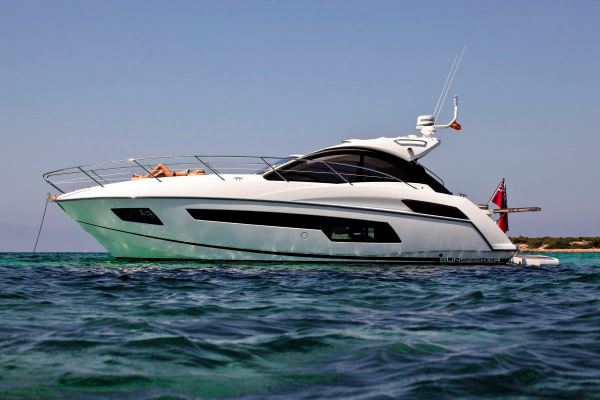 The ideal Mediterranean cruiser: The Sunseeker Portofino 40 is a highly popular model