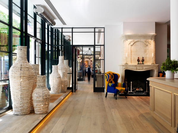 SLEEP: Ham Yard Hotel, 1 Ham Yard, London, W1D 7DT